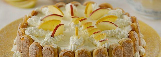 cb31ffcf4338 Torta fredda con savoiardi e mascarpone