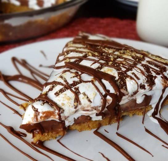 Torta con nutella e mascarpone ricetta