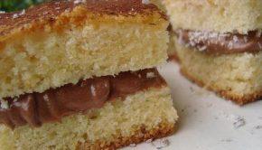 torta mascarpone nutella