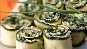 canape zucchine