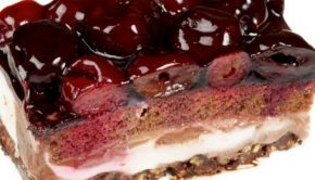 torta cioccolato ciliegie